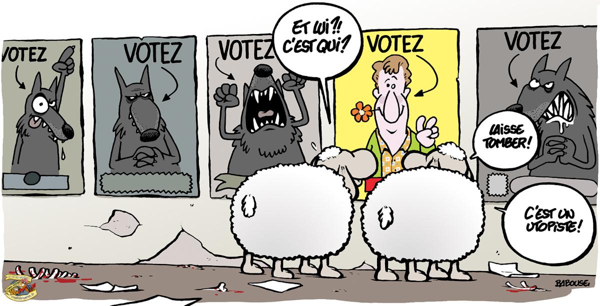 Je voterai pour tes beaux yeux