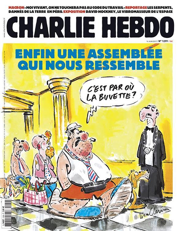 La une de Charlie