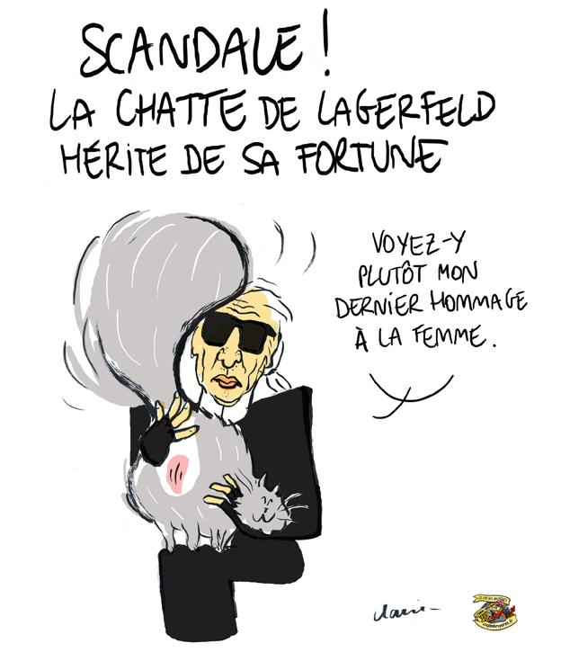 Choupette, le chat Chanel