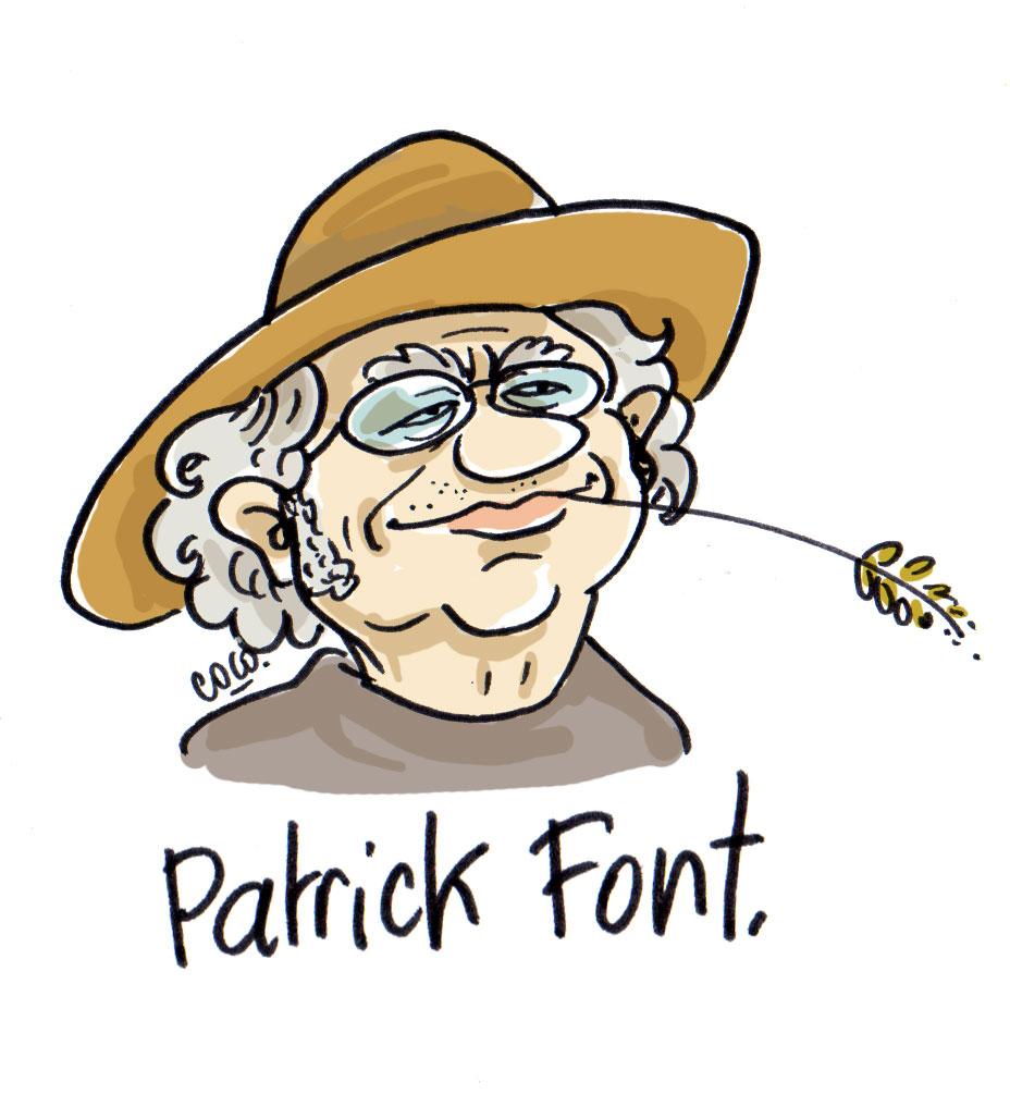 Patrick Font, livre et chansons
